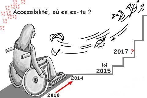 la loi en faveur de l accessibilit des personnes handicap es pour les erp votre sant. Black Bedroom Furniture Sets. Home Design Ideas