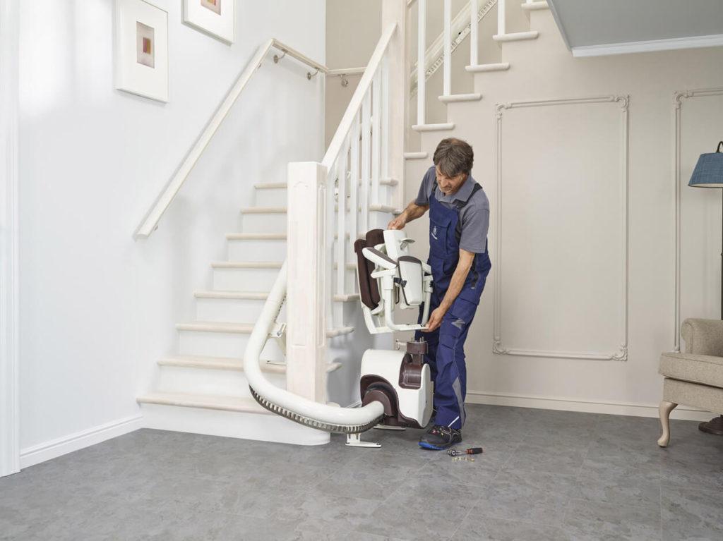 comment monter un escalier cool mise en place des cadres cls with comment monter un escalier. Black Bedroom Furniture Sets. Home Design Ideas